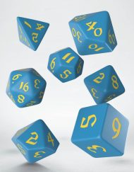 Polydice Set Q-Workshop Classic Runic Blue Yellow