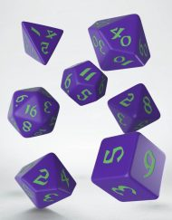 Polydice Set Q-Workshop Classic Runic Purple Green