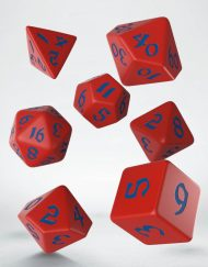 Polydice Set Q-Workshop Classic Runic Red Blue