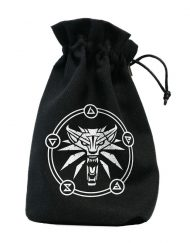 Dice Bag The Witcher Geralt - School of the Wolf Q-Workshop